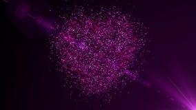 Αφηρημένο υπόβαθρο, κύματα των χρωματισμένων γραμμών, μαγικά μόρια κυμάτων διανυσματική απεικόνιση