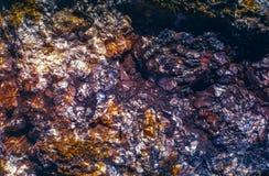 Αφηρημένο υπόβαθρο πετρών βράχου χρώματος στοκ εικόνες με δικαίωμα ελεύθερης χρήσης