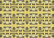 Αφηρημένο πολύχρωμο γεωμετρικό σχέδιο άνευ ραφής διάνυσμα προτύπων διανυσματική απεικόνιση