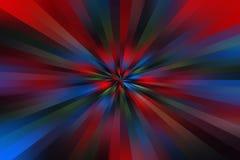 Αφηρημένο πολύχρωμο Starburst ελεύθερη απεικόνιση δικαιώματος