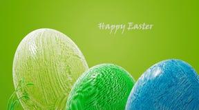 Αυγά Πάσχας ζωηρόχρωμα διανυσματική απεικόνιση