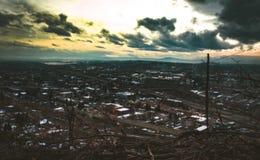 Από την κορυφή βουνών στοκ εικόνες με δικαίωμα ελεύθερης χρήσης