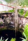 Βαθιά τρύπα νεροχυτών στοκ φωτογραφίες