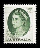 Βασίλισσα Elizabeth, Definitives serie, circa 1964 στοκ εικόνες