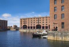Βασιλικός Αλβέρτος Dock, Λίβερπουλ, Ηνωμένο Βασίλειο στοκ φωτογραφία με δικαίωμα ελεύθερης χρήσης