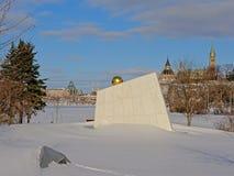 Βασιλικό μνημείο καναδικού ναυτικού, Οττάβα, Καναδάς στοκ φωτογραφία