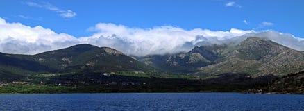 Βουνά του κέντρου της ιβηρικής χερσονήσου, Ισπανία στοκ εικόνες