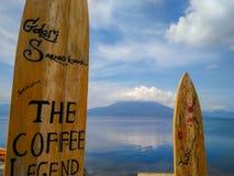 Βουνό Seminung μεταξύ στοκ φωτογραφία με δικαίωμα ελεύθερης χρήσης