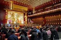 Βουδιστικές προσευχές, Σιγκαπούρη στοκ εικόνες με δικαίωμα ελεύθερης χρήσης