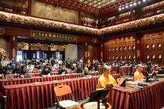 Βουδιστικοί μοναχοί, Σιγκαπούρη στοκ εικόνες με δικαίωμα ελεύθερης χρήσης