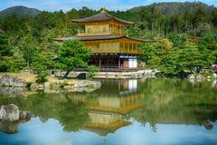 Βουδιστικός ναός Kinkaku, Κιότο, Ιαπωνία στοκ φωτογραφία με δικαίωμα ελεύθερης χρήσης