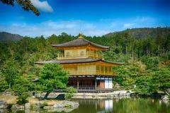 Βουδιστικός ναός Kinkaku, Κιότο, Ιαπωνία στοκ εικόνα με δικαίωμα ελεύθερης χρήσης