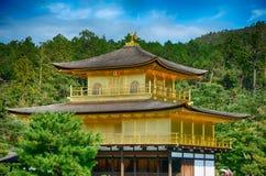 Βουδιστικός ναός Kinkaku, Κιότο, Ιαπωνία στοκ φωτογραφίες με δικαίωμα ελεύθερης χρήσης