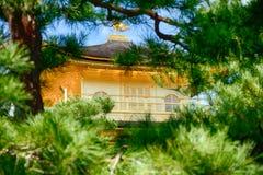 Βουδιστικός ναός Kinkaku, Κιότο, Ιαπωνία στοκ εικόνες