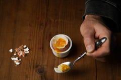 βρασμένο αυγό 1 ζωή ακόμα στοκ φωτογραφίες με δικαίωμα ελεύθερης χρήσης