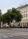 Βροχερή ημέρα το φθινόπωρο στην Πράγα στοκ φωτογραφίες με δικαίωμα ελεύθερης χρήσης