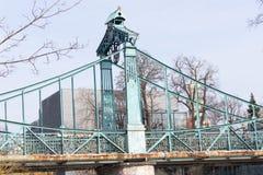 Γέφυρα Groszowy πέρα από το wka MÅ 'ynà ³ στοκ εικόνες