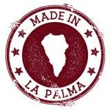 Γίνοντας στο γραμματόσημο Λα Palma απεικόνιση αποθεμάτων
