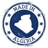 Γίνοντας στο γραμματόσημο της Αλγερίας απεικόνιση αποθεμάτων