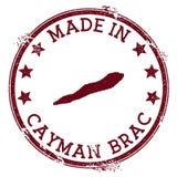 Γίνοντας στο γραμματόσημο Cayman Brac ελεύθερη απεικόνιση δικαιώματος