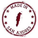 Γίνοντας στο γραμματόσημο SAN Andres διανυσματική απεικόνιση