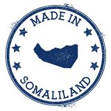 Γίνοντας στο γραμματόσημο Somaliland ελεύθερη απεικόνιση δικαιώματος