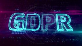 Γενικός κανονισμός προστασίας δεδομένων GDPR απεικόνιση αποθεμάτων