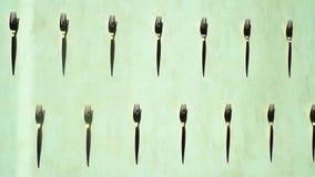 Γραπτά βουλώματα μετάλλων Ακόμα ζωή, δίκρανα, όμορφα δίκρανα, γραπτά δίκρανα, μαχαιροπήρουνα, γραπτή φωτογραφία φιλμ μικρού μήκους
