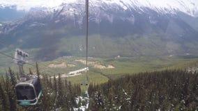 Γόνδολα Banff που πηγαίνει κάτω φιλμ μικρού μήκους