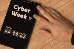 Εβδομάδα Cyber στοκ φωτογραφία