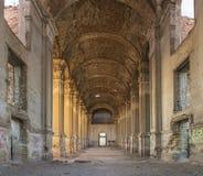 Εγκαταλειμμένη καθολική εκκλησία Zelts, Ουκρανία στοκ φωτογραφίες