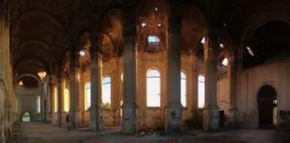 Εγκαταλειμμένη καθολική εκκλησία Zelts, Ουκρανία στοκ εικόνες με δικαίωμα ελεύθερης χρήσης