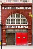 Εγκαταλειμμένος σταθμός σκελών στο Λονδίνο στοκ εικόνες