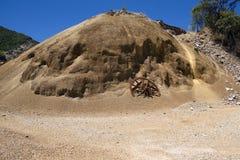 Εγκαταλειμμένο ορυχείο στη Σαρδηνία στη Σαρδηνία στοκ εικόνες με δικαίωμα ελεύθερης χρήσης