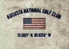 Εθνικό γκολφ κλαμπ του Αουγκούστα απεικόνιση αποθεμάτων