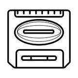 Εικονίδιο μηχανών Arcade διανυσματική απεικόνιση