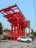 Εικονική παράσταση πόλης Chengdu, Κίνα στοκ φωτογραφίες