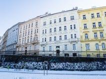 Εικόνα του κτηρίου σε ένα κέντρο πόλεων της Πράγας στοκ φωτογραφίες