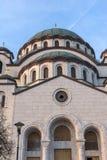 Εκκλησία καθεδρικών ναών Αγίου Sava στο κέντρο της πόλης Βελιγραδι'ου, Σερβία στοκ εικόνα με δικαίωμα ελεύθερης χρήσης