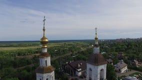 Εκκλησία στο παλαιό χωριό φιλμ μικρού μήκους
