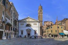Εκκλησία του SAN Maurizio, Βενετία στοκ εικόνες με δικαίωμα ελεύθερης χρήσης