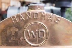 Εκλεκτής ποιότητας θερμαντικό σώμα Sinsheim τρακτέρ Hanomag στοκ εικόνες