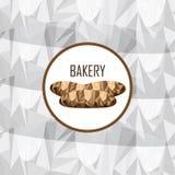 Εμπορικό σήμα για το αρτοποιείο, υλικό μάρκετινγκ ελεύθερη απεικόνιση δικαιώματος
