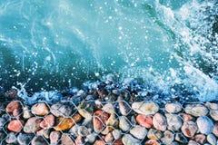 Εναέρια άποψη θάλασσας στοκ φωτογραφία με δικαίωμα ελεύθερης χρήσης