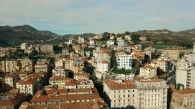 Εναέρια άποψη της πόλης του Λα Spezia, Ιταλία απόθεμα βίντεο