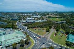 Εναέρια άποψη Campbelltown, Νότια Νέα Ουαλία στοκ εικόνες
