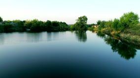 εναέρια όψη ποταμών απόθεμα βίντεο
