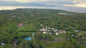 Εναέριο μήκος σε πόδηα του νησιού Gili Meno στην Ινδονησία απόθεμα βίντεο