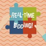 Εννοιολογική παρουσίαση γραψίματος χεριών πραγματική - χρονική προσφορά Η επίδειξη επιχειρησιακών φωτογραφιών αγοράζει και πωλεί  ελεύθερη απεικόνιση δικαιώματος