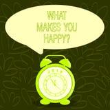 Εννοιολογικό χέρι που γράφει παρουσιάζοντας τι σας κάνει Happyquestion Η ευτυχία επίδειξης επιχειρησιακών φωτογραφιών έρχεται με  απεικόνιση αποθεμάτων